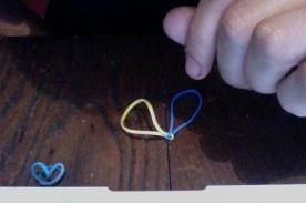 tiro ancora. Si può fare anche con più elastici assieme.