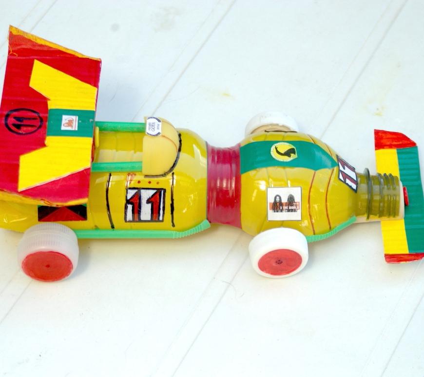 giocattolo fai da te: automobile