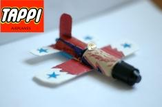aereo a reazione con tappi