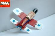 aereo a reazione tappi