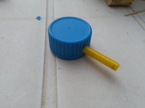 giocattolo fai da te: cannone a molla