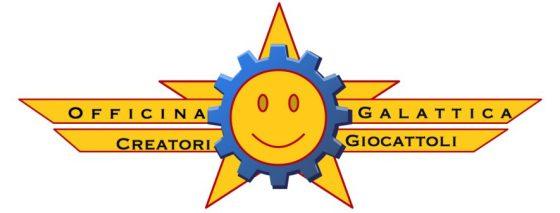 officina galattica creatori giocattoli logo