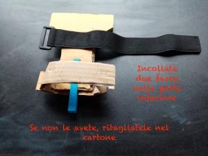 Lasertag analogico: bracciale